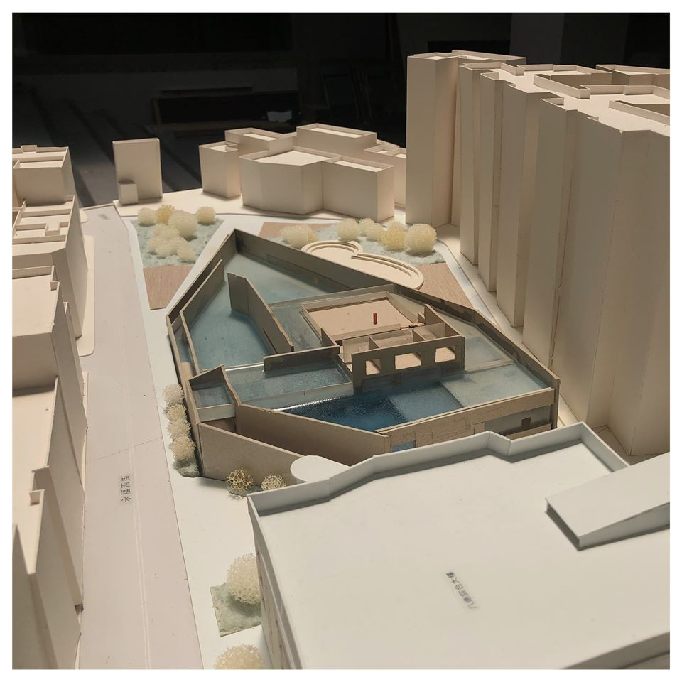 17屆銘傳建築_Project 48 - | 城市之湖 ( The imagination of the pool ) |
