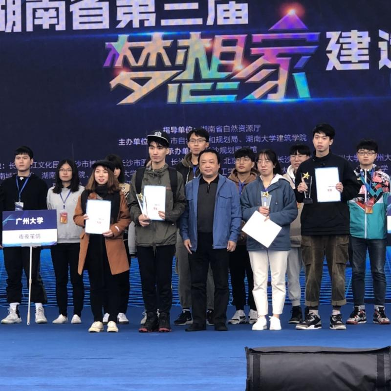 "2019 Hunan ""Dreamer"" Construction Day Work Camp , Won third place !"