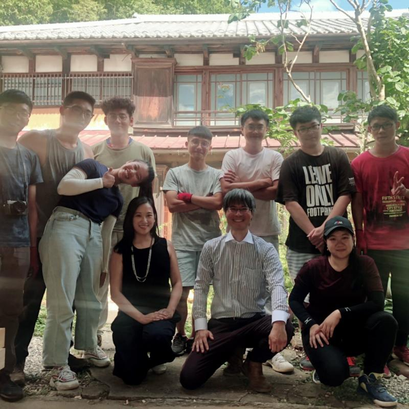 2019 Summer Ming Chuan Architecture students went to VAN COLLAR in Kofu, Japan for practical construction internship,Learn Japanese traditional construction methods!